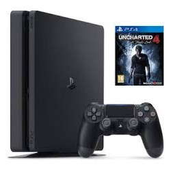 Sony PS4 500GB F Chassis Black + Uncharted 4