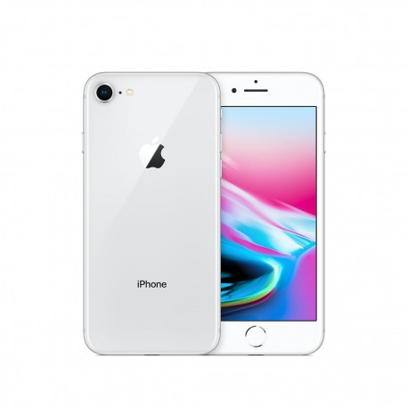 Iphone 8 64 GB Silver ricondizionato GRADO AB