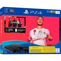 Sony PS4 1TB Black + 2 Dual Shock V2 + FIFA 20
