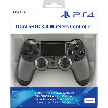 PS4 DUALSHOCK 4 STEEL BLACK V2