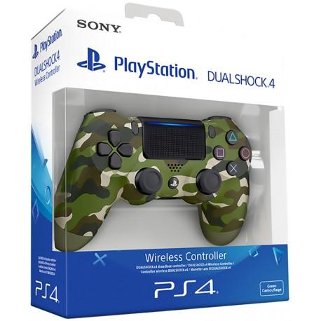 PS4 DUALSHOCK 4 GREEN CAMOUFLAGE V2