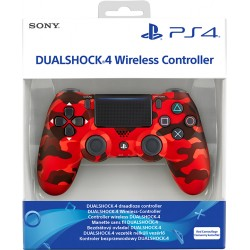 PS4 DUALSHOCK 4 RED CAMOUFLAGE V2