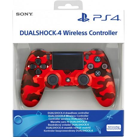 PS4 DUALSHOCK 4 RED CAMOUFLAGE V2