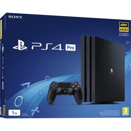 Sony PS4 Console 1TB Pro Gamma Black