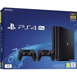Sony PS4 Console 1TB Pro Gamma Black + 2 Dualshock 4