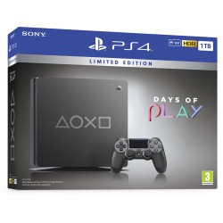 Sony PS4 Console 1TB Days Of Play Limited Edition 2019