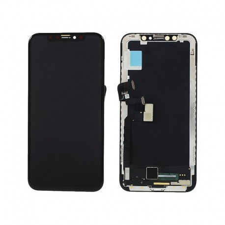 Display per Iphone x black Oled touch screen assemblato