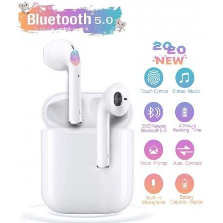 Auricolari Bluetooth i12 TWS Compatibili