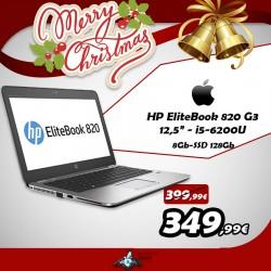"""HP EliteBook 820 G3 12.5"""" i5-6200U 8GB SSD128 Ricondizionato A"""