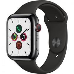 Apple Watch Series 5 gray 40mm GPS gray Grado A cinturino nero