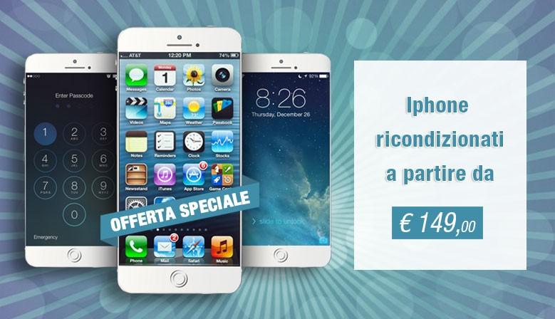 Iphone Ricondionati a partire da 149 euro