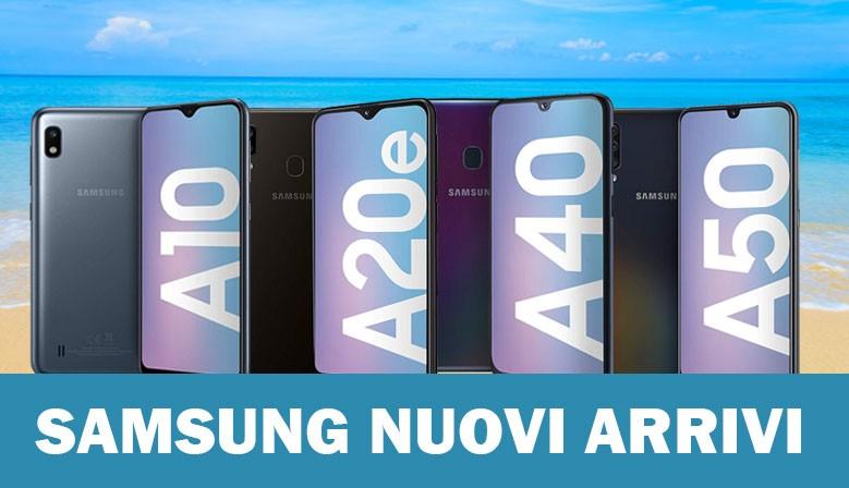 Nuovi arrivi Samsung