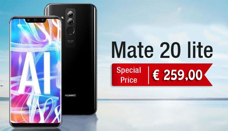 Huawei mate 20 Lite black nuovo italia